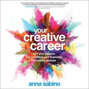 Your Creative Career audiobook cover art