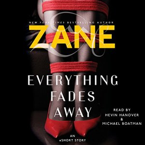 Zane's Everything Fades Away audiobook cover art