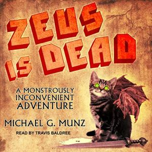 Zeus Is Dead audiobook cover art