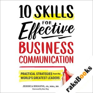 10 Skills for Effective Business Communication audiobook cover art