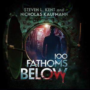 100 Fathoms Below audiobook cover art