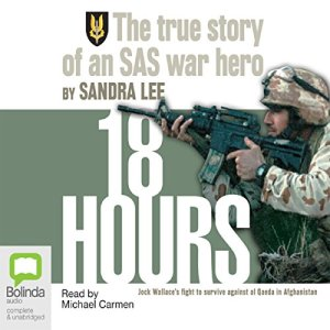 18 Hours audiobook cover art