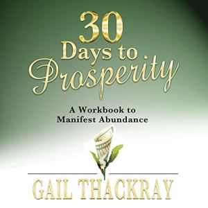30 Days to Prosperity audiobook cover art