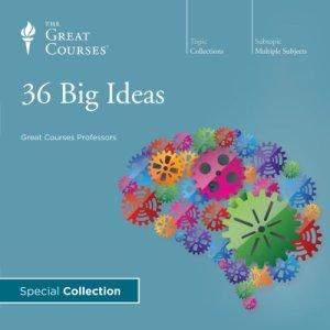 36 Big Ideas audiobook cover art