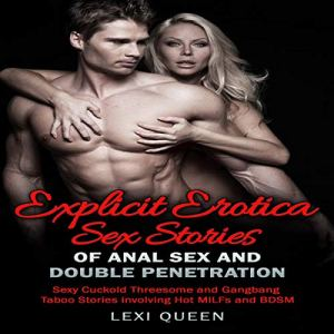 5 Explicit Erotica Sex Stories of Anal Sex and Double Penetration audiobook cover art