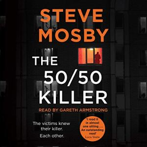 The 50/50 Killer audiobook cover art
