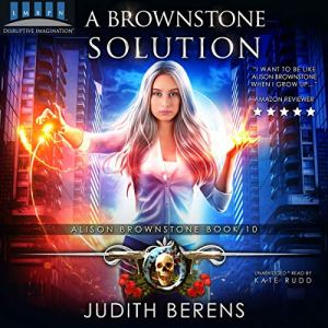 A Brownstone Solution audiobook cover art