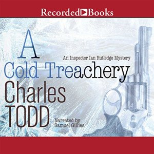 A Cold Treachery audiobook cover art