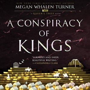 A Conspiracy of Kings audiobook cover art