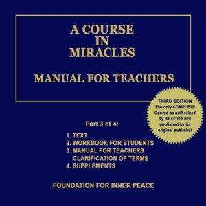 A Course in Miracles: Manual for Teachers, Vol. 3 audiobook cover art