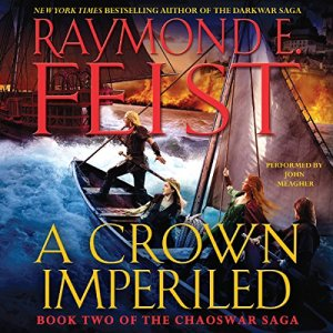 A Crown Imperiled audiobook cover art