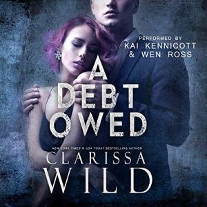 A Debt Owed (A Dark Billionaire Romance) audiobook cover art