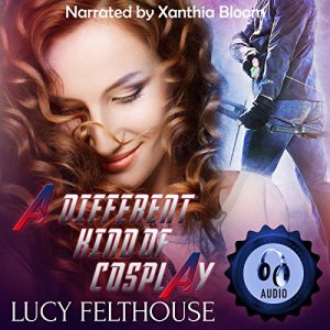 A Different Kind of Cosplay audiobook cover art