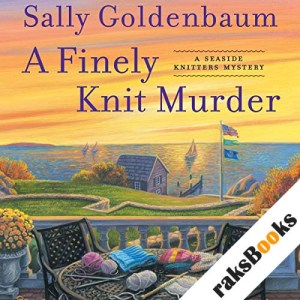 A Finely Knit Murder audiobook cover art