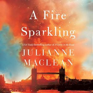 A Fire Sparkling audiobook cover art