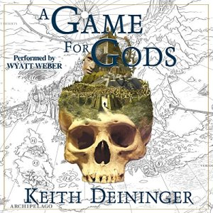 A Game for Gods audiobook cover art