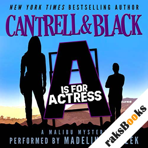"""""""A"""" is for Actress (Malibu Mystery Book 1) audiobook cover art"""