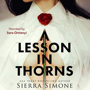 A Lesson in Thorns audiobook cover art