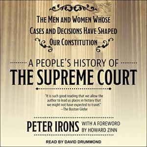 A People's History of the Supreme Court audiobook cover art