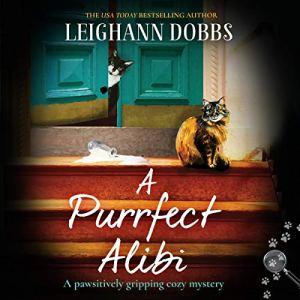 A Purrfect Alibi audiobook cover art