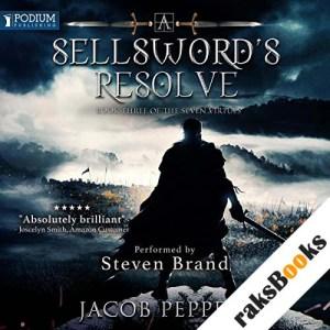 A Sellsword's Resolve audiobook cover art