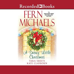 A Snowy Little Christmas audiobook cover art