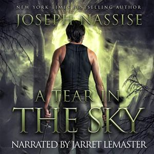 A Tear in the Sky audiobook cover art