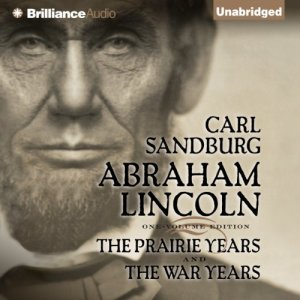 Abraham Lincoln audiobook cover art