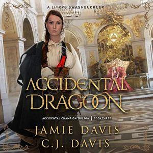 Accidental Dragoon audiobook cover art