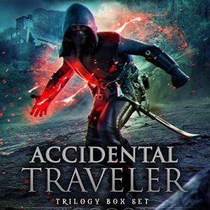 Accidental Traveler Box Set Volumes 1-3 audiobook cover art
