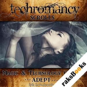 Adept audiobook cover art