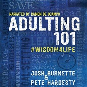 Adulting 101: #Wisdom4Life audiobook cover art