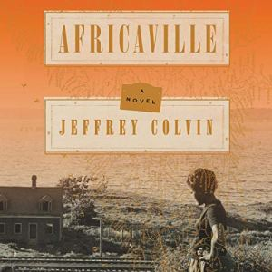 Africaville audiobook cover art