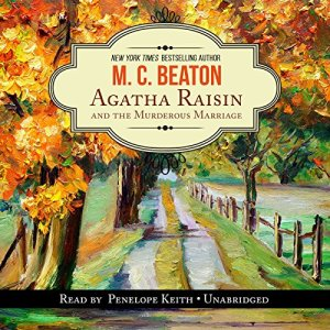 Agatha Raisin and the Murderous Marriage audiobook cover art