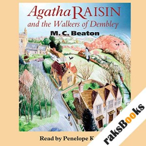 Agatha Raisin and the Walkers of Dembley audiobook cover art