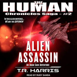 Alien Assassin audiobook cover art
