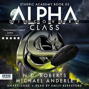 Alpha Class - Discovery audiobook cover art