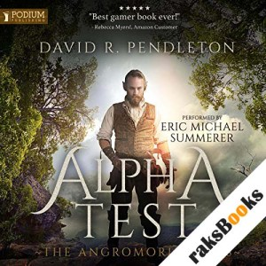 Alpha Test audiobook cover art