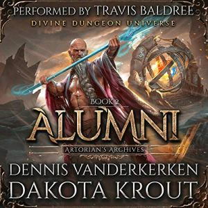 Alumni: A Divine Dungeon Series audiobook cover art