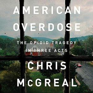 American Overdose audiobook cover art