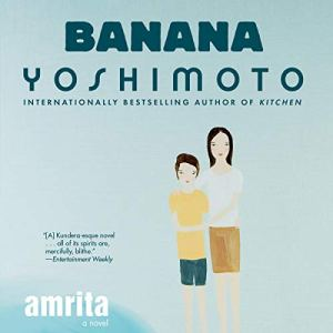 Amrita audiobook cover art