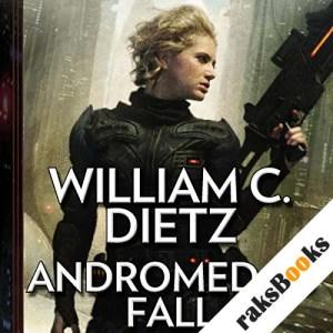 Andromeda's Fall audiobook cover art