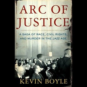 Arc of Justice audiobook cover art
