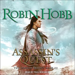 Assassin's Quest audiobook cover art