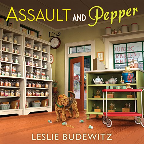 Assault and Pepper audiobook cover art