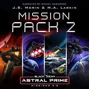 Astral Prime Mission: Pack 2 audiobook cover art