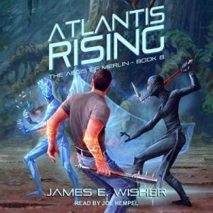 Atlantis Rising audiobook cover art