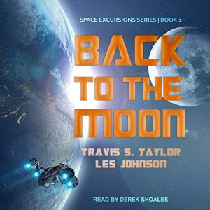 Back to the Moon audiobook cover art