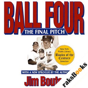 Ball Four audiobook cover art