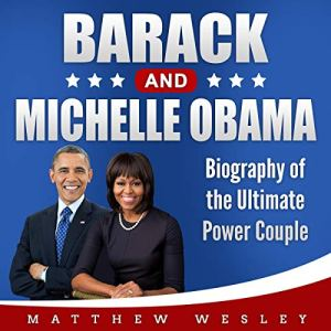 Barack and Michelle Obama audiobook cover art